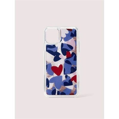 Fashion 4 - heart party liquid glitter iphone 11 pro max case