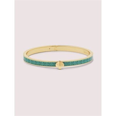 Fashion 4 - heritage spade textured thin bangle