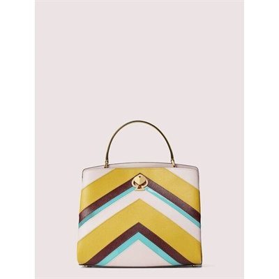 Fashion 4 - romy intarsia medium satchel