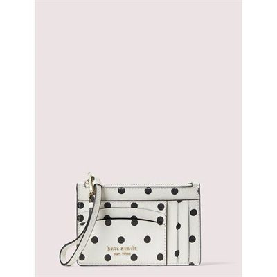 Fashion 4 - spencer cabana dot cardholder wristlet