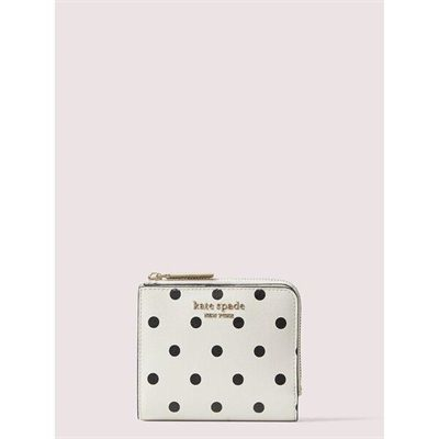Fashion 4 - spencer cabana dot small bifold wallet