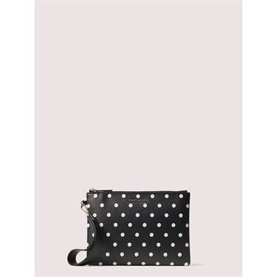 Fashion 4 - spencer cabana dot small pouch wristlet