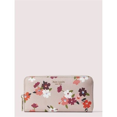 Fashion 4 - spencer cherry blossom zip-around continental wallet