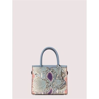 Fashion 4 - spencer snake-embossed mini satchel