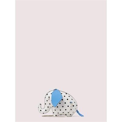 Fashion 4 - tiny cabana dot elephant crossbody