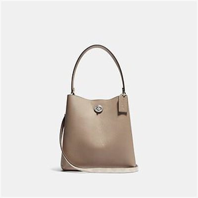 Fashion 4 Coach CHARLIE BUCKET BAG 21 IN BLOCKED SIGNATURE CANVAS