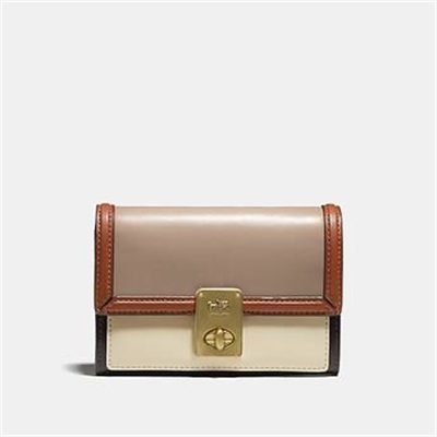 Fashion 4 Coach HUTTON WALLET IN COLORBLOCK