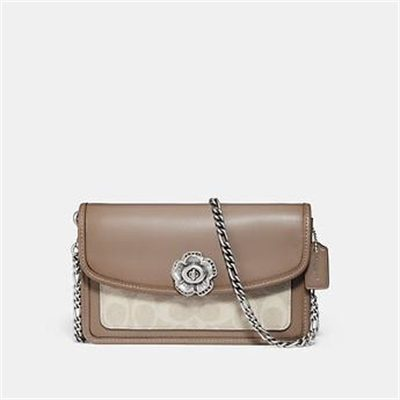 Fashion 4 Coach PARKER CROSSBODY IN SIGNATURE CANVAS