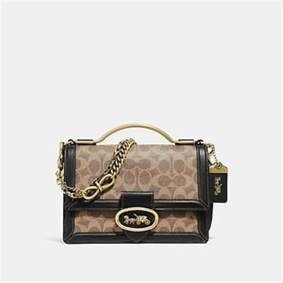 Fashion 4 Coach RILEY TOP HANDLE 22 IN SIGNATURE CANVAS