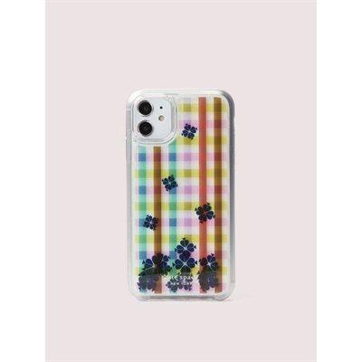 Fashion 4 - bella plaid liquid iphone 11 case