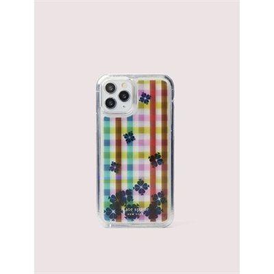 Fashion 4 - bella plaid liquid iphone 11 pro case