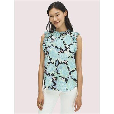 Fashion 4 - dahlia bloom shell top