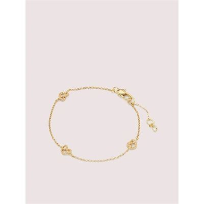 Fashion 4 - loves me knot pavé bracelet