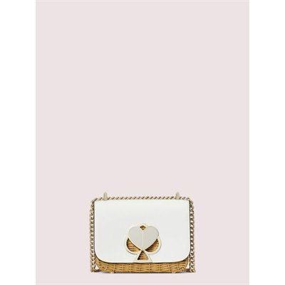 Fashion 4 - nicola wicker twistlock small convertible chain shoulder bag