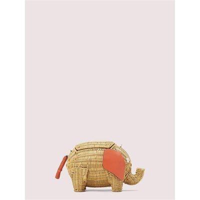 Fashion 4 - tiny wicker large elephant crossbody