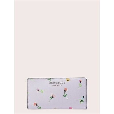 Fashion 4 - cameron floral ditsy large slim bifold wallet