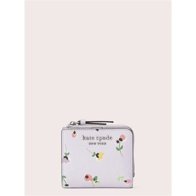 Fashion 4 - cameron floral ditsy small l-zip bifold wallet