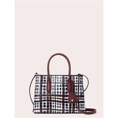 Fashion 4 - eva stripe small top zip satchel