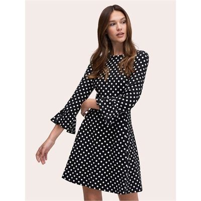 Fashion 4 - lia dot ponte dress
