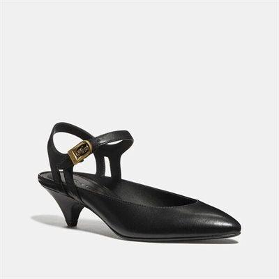 Fashion 4 Coach Ankle Strap Heel