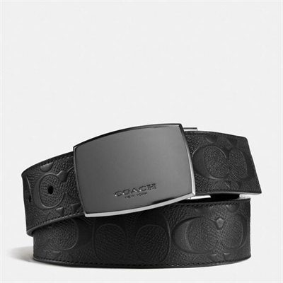 Fashion 4 Coach Classic Plaque Cut-To-Size Reversible Belt In Signature Leather