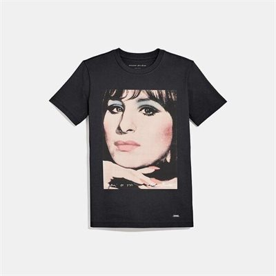 Fashion 4 Coach Coach X Richard Bernstein T-Shirt With Barbra Streisand