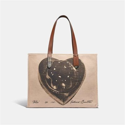 Fashion 4 Coach Coach X Richard Bernstein Tote 42 With Jello Heart