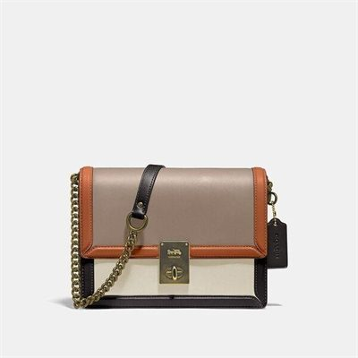 Fashion 4 Coach Hutton Shoulder Bag In Colorblock