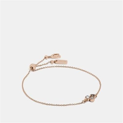 Fashion 4 Coach Mini Tea Rose Cluster Slider Bracelet