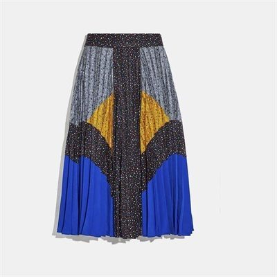 Fashion 4 Coach Mix Pleated Skirt