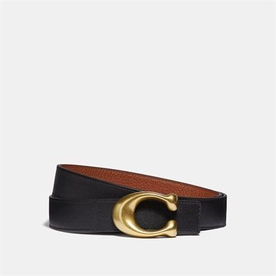 Fashion 4 Coach Signature Buckle Reversible Belt