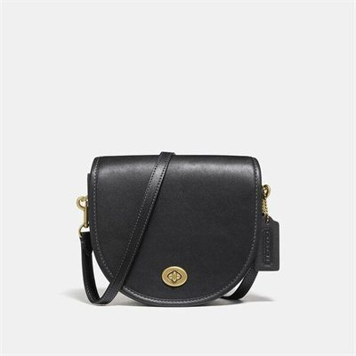 Fashion 4 Coach Turnlock Saddle Crossbody