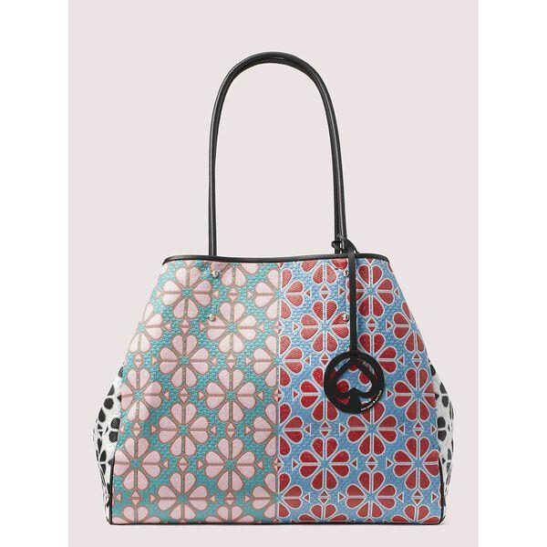 Fashion 4 - everything spade flower large tote