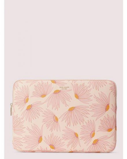 Fashion 4 - falling flower laptop sleeve