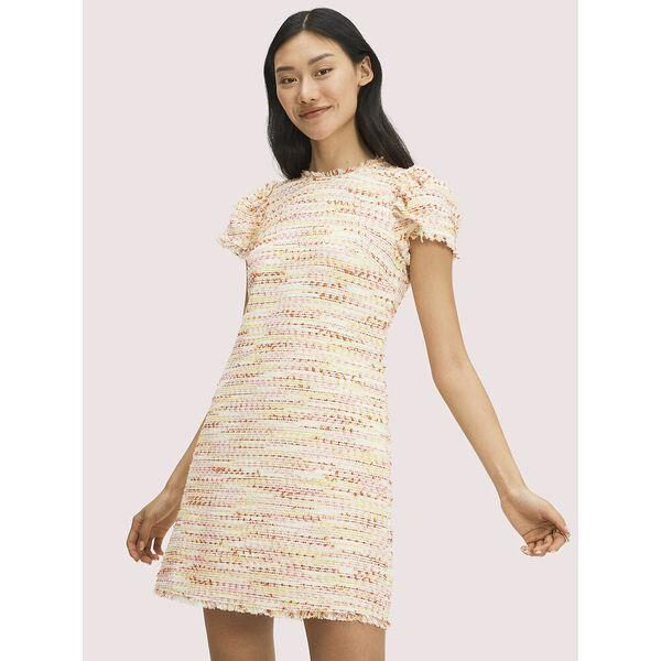 Fashion 4 - multi tweed shift dress