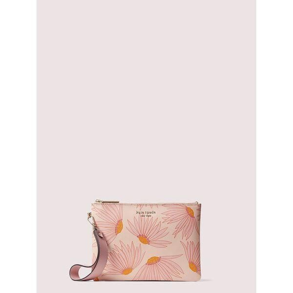 Fashion 4 - spencer falling flower small pouch wristlet