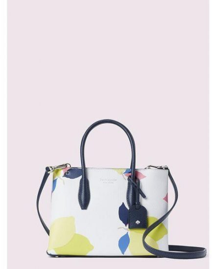 Fashion 4 - eva lemon zest small top zip satchel