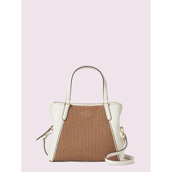 Fashion 4 - jackson straw medium triple compartment satchel