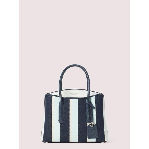 Fashion 4 - margaux canvas stripe medium satchel