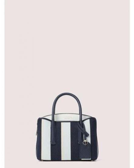 Fashion 4 - margaux canvas stripe mini satchel