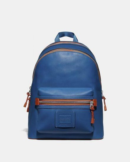 Fashion 4 Coach Academy Backpack With Varsity Zipper