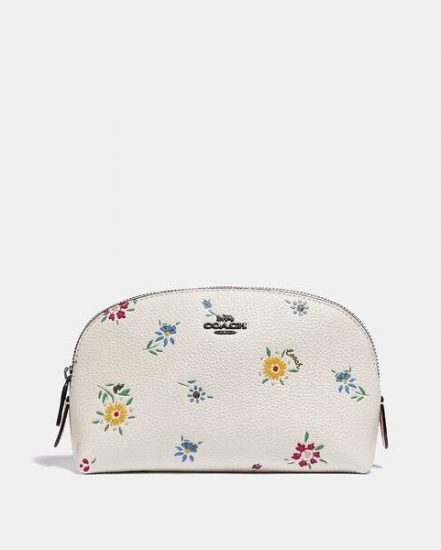 Fashion 4 Coach Cosmetic Case 17 With Wildflower Print