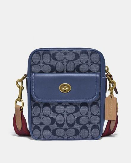 Fashion 4 Coach Dylan 15 In Signature Chambray