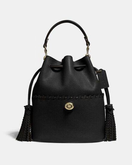 Fashion 4 Coach Lora Bucket Bag With Whipstitch Detail
