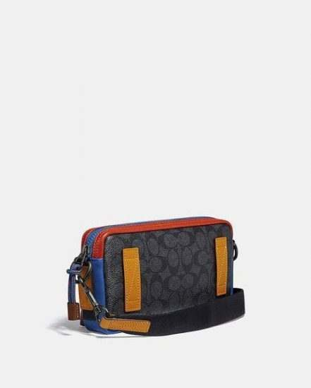 Fashion 4 Coach Pacer Slim Pouch In Signature Canvas