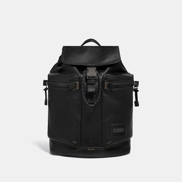 Fashion 4 Coach Pacer Utility Backpack With Coach Patch