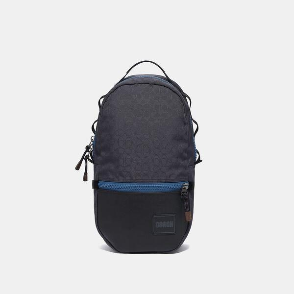 Fashion 4 Coach Reversible Pacer Backpack In Signature Cordura® Fabric With Coach Patch