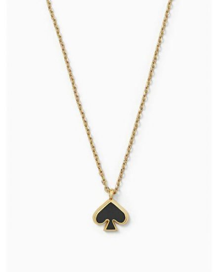 Fashion 4 - everyday spade enamel mini pendant