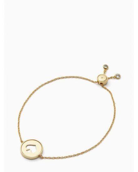 Fashion 4 - spade slider bracelet