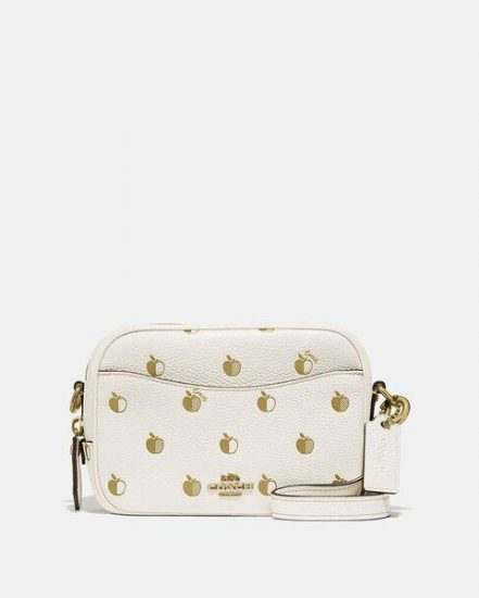 Fashion 4 Coach Camera Bag 16 With Apple Print